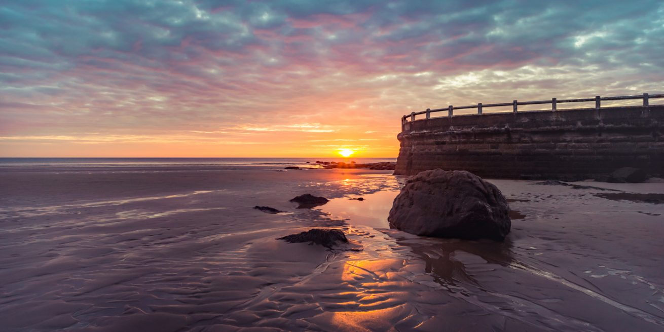 Longsands Sunrise, Tynemouth